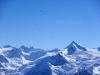 Nad vrcholem Kitzteinhorn